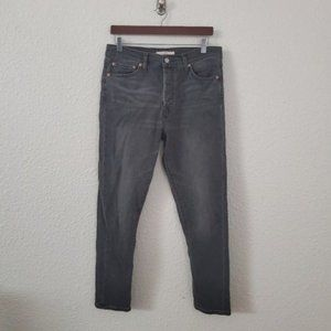 Levi's Wedgie Fit Skinny Jeans Faded Black Wash 31